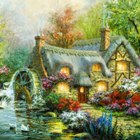 Country Retreat-Puzzle-Bluebird Puzzle-Doctor Panush