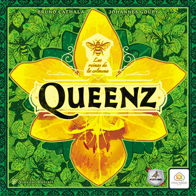 Juego de mesa Queenz: to bee or not to bee