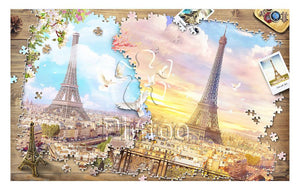 Puzzle Pintoo - Puzzle in Puzzle - The Magnificent Eiffel Tower. 1000 piezas-Doctor Panush