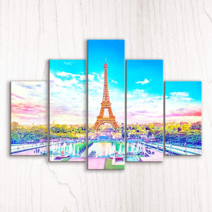 Puzzle Pintoo Canvas- Beautiful Paris. 792 piezas-Doctor Panush
