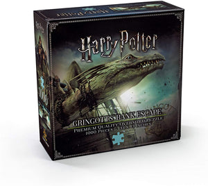 Puzzle The Noble Collection. Harry Potter. Gringotts. 1000 piezas-Puzzle-The Noble Collection-Doctor Panush