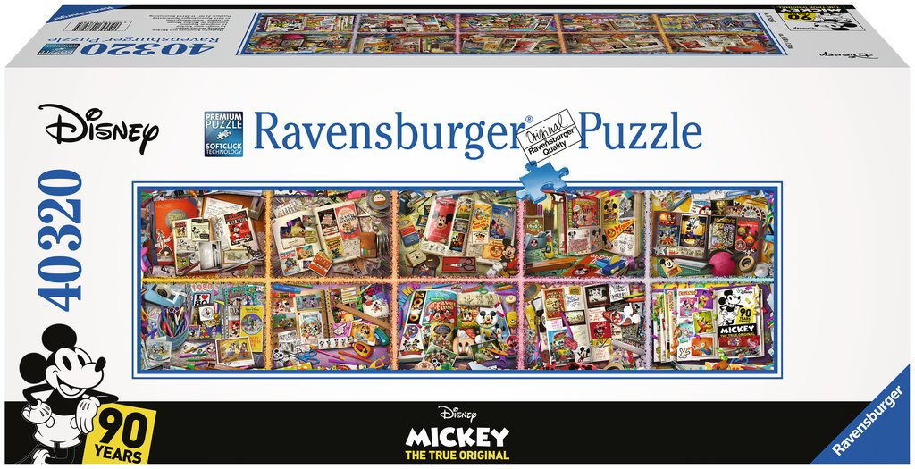 Puzzle Ravensburger - Mickey. The True Original, Disney. 40.320 piezas