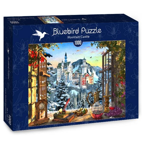 Mountain Castle-Puzzle-Bluebird Puzzle-Doctor Panush