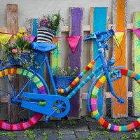 My Beautiful Colorful Bike-Puzzle-Bluebird Puzzle-Doctor Panush