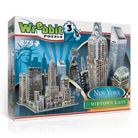 Puzzle 3D Wrebbit - New York. Midtown East - 875 piezas-Doctor Panush