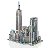 Puzzle 3D Wrebbit - New York. Midtown West  - 900 piezas - Puzzle Wrebbit - 2
