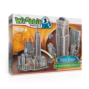 Puzzle 3D Wrebbit - New York. Midtown West  - 900 piezas - Puzzle Wrebbit - 1