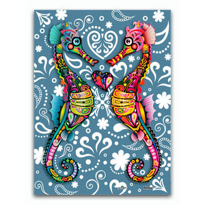 Puzzle Pintoo XS - The Colorful Hippocampus. 150 piezas