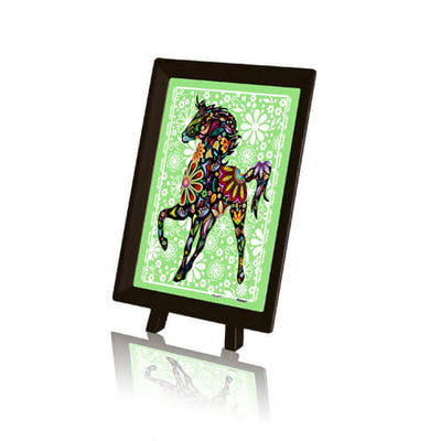 Puzzle Pintoo XS - The Pretty Horse. 150 piezas