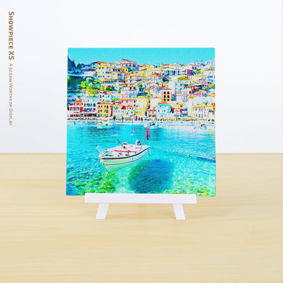 Puzzle Pintoo XS 256 - Heaven on Earth - Parga Port, Greece