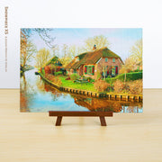 Puzzle Pintoo XS 368 - Giethoorn, Netherlands-Doctor Panush