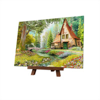 Puzzle Pintoo XS 368 - Dominic Davison - Toadstool Cottage-Pintoo-Doctor Panush