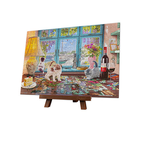 Puzzle Pintoo XS 368 - Steve Read - Puzzlers Desk-Pintoo-Doctor Panush