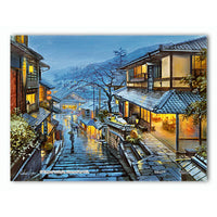 Puzzle Pintoo - XS - Evgeny Lushpin - Old Kyoto. 150 piezas