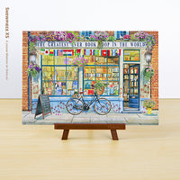 Puzzle Pintoo XS 368 - Garry Walton - Greatest Bookshop in the World