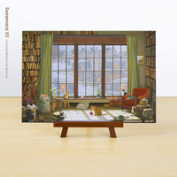 Puzzle Pintoo XS 368 - David Maclean - Window Cats