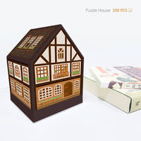 Puzzle House - Half-Timbered House