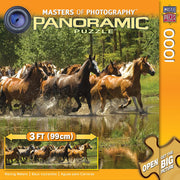Puzzle Masterpieces - Racing Waters. Panorámico 1000 piezas-Puzzle-Masterpieces-Doctor Panush