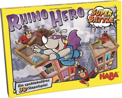 Juego HABA Rhino Hero - Super Battle-Doctor Panush