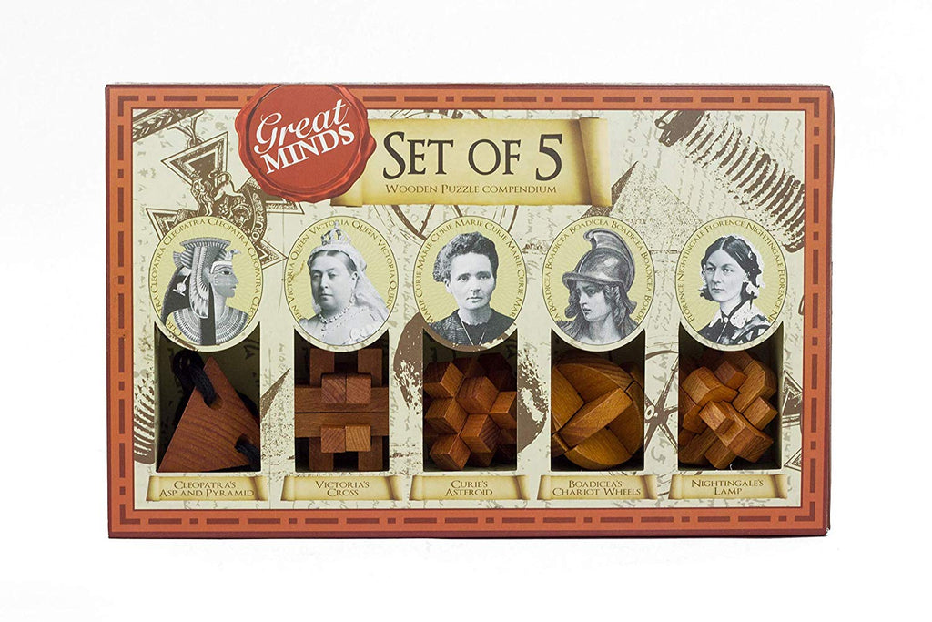 Set of 5 Women - Great Minds