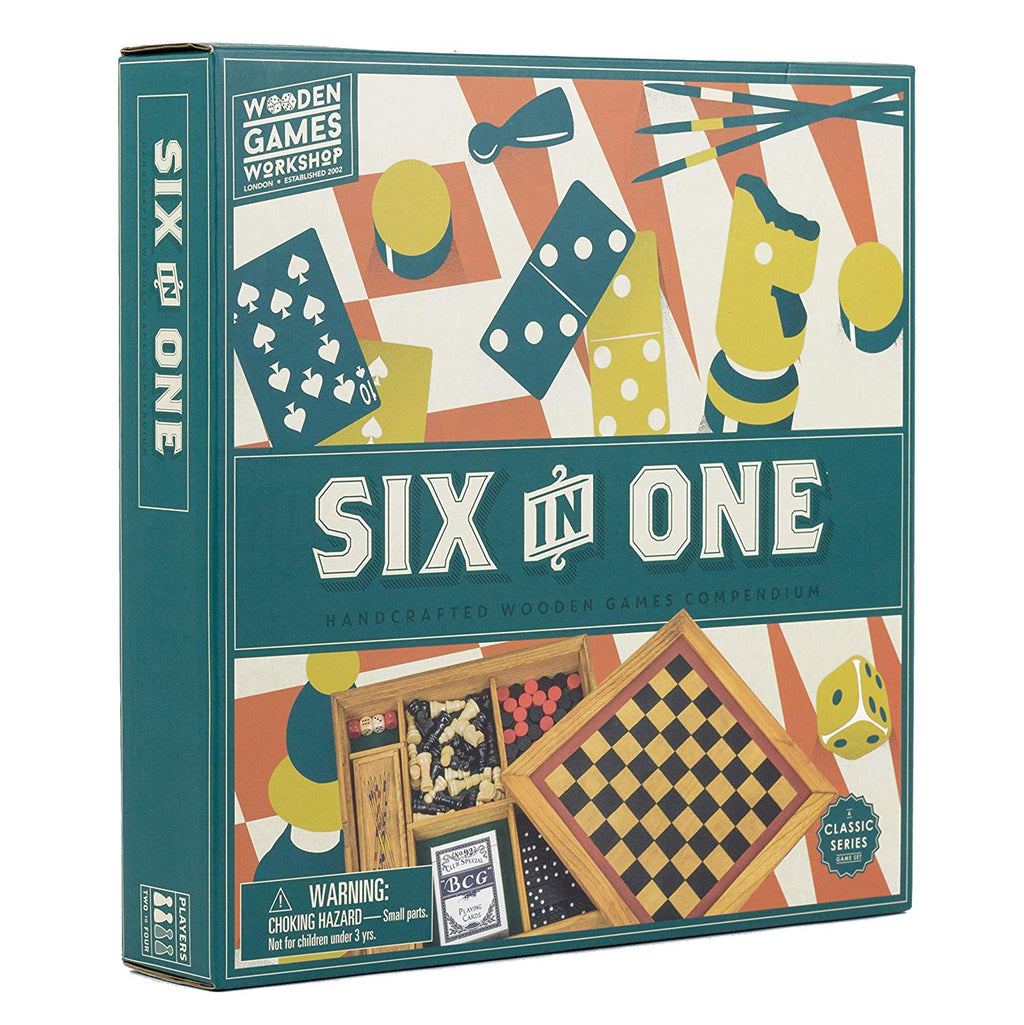 Six in One Games Compendium-Professor Puzzle-Doctor Panush