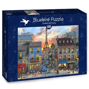 Streets of Paris-Puzzle-Bluebird Puzzle-Doctor Panush