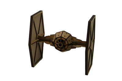 Maqueta 3D Wood Models - Tie Fighter - Star Wars