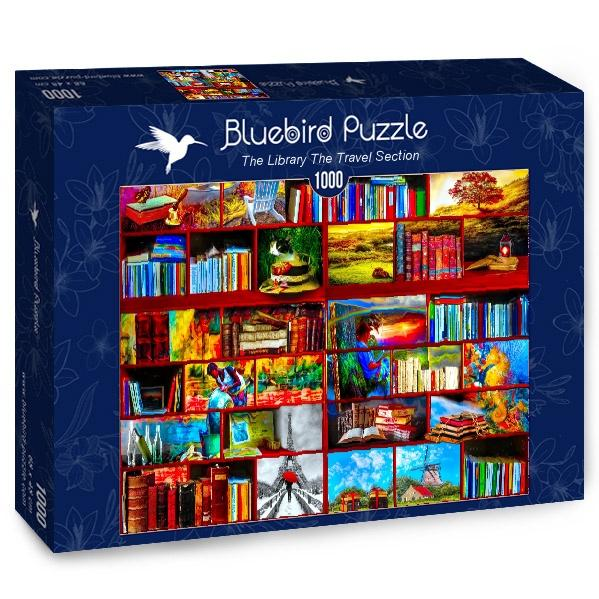 The Library The Travel Section-Puzzle-Bluebird Puzzle-Doctor Panush