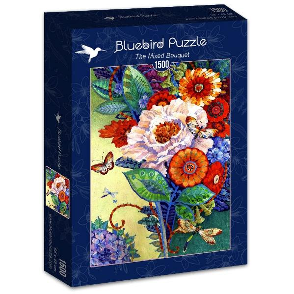The Mixed Bouquet-Puzzle-Bluebird Puzzle-Doctor Panush