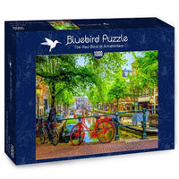 The Red Bike in Amsterdam-Puzzle-Bluebird Puzzle-Doctor Panush