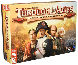Juego de mesa Through the Ages-Doctor Panush