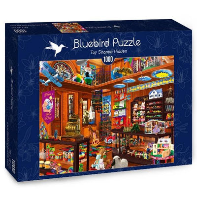 Toy Shoppe Hidden-Puzzle-Bluebird Puzzle-Doctor Panush