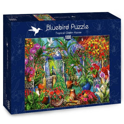 Tropical Green House-Puzzle-Bluebird Puzzle-Doctor Panush