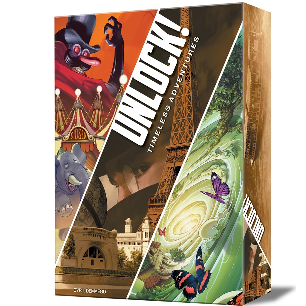 Juego de cartas Unlock! Timeless Adventures-Asmodee-Doctor Panush