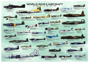 World War II Aircrafts-Puzzle-Eurographics-Doctor Panush