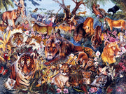 Puzzle SunsOut - Animal Fantasia. 300 piezas XXL