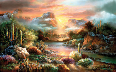 Puzzle SunsOut - James Lee - Sunset Splendor. 300 piezas XXL