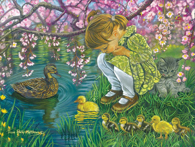 Puzzle SunsOut - Tricia Reilly-Matthews - A Mother's Love. 300 piezas XXL