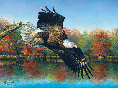 Puzzle SunsOut -Abraham Hunter - Wetlands Eagle. 1000 piezas-Puzzle-SunsOut-Doctor Panush
