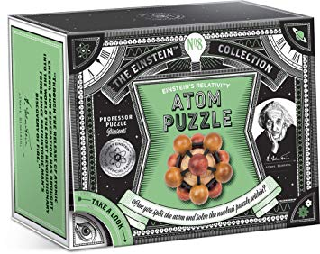 Atom Puzzle. The Einstein Collection nº8