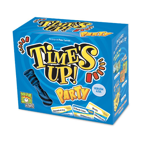 Juego de mesa Time´s Up! Party 2 (Azul)