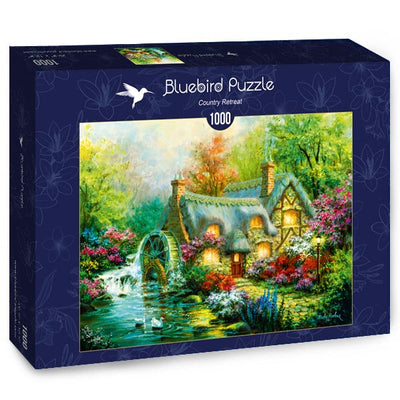 Puzzle Bluebird Puzzle - Country Retreat. 1000 piezas-Puzzle-Bluebird Puzzle-Doctor Panush