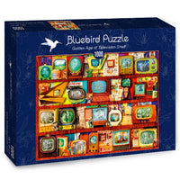Puzzle Bluebird Puzzle - Golden Age of Television-Shelf. 1000 piezas-Puzzle-Bluebird Puzzle-Doctor Panush