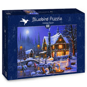 Puzzle Bluebird Puzzle - Holiday Spirit. 500 piezas