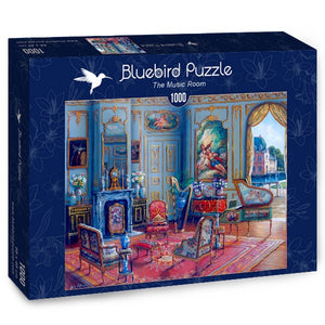 Puzzle Bluebird Puzzle - The Music Room. 1000 piezas-Puzzle-Bluebird Puzzle-Doctor Panush