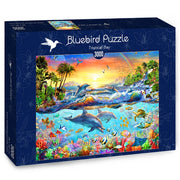 Puzzle Bluebird Puzzle - Tropical Bay. 3000 piezas