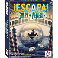 Juego Escape the Room. ¡Escapa! Golpe en Venecia