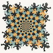 Puzzle minipiezas Puzzelman- MC Escher - From Small to Large. 210 piezas