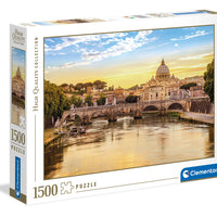Puzzle Clementoni Roma - 1500 piezas - High Quality Collection