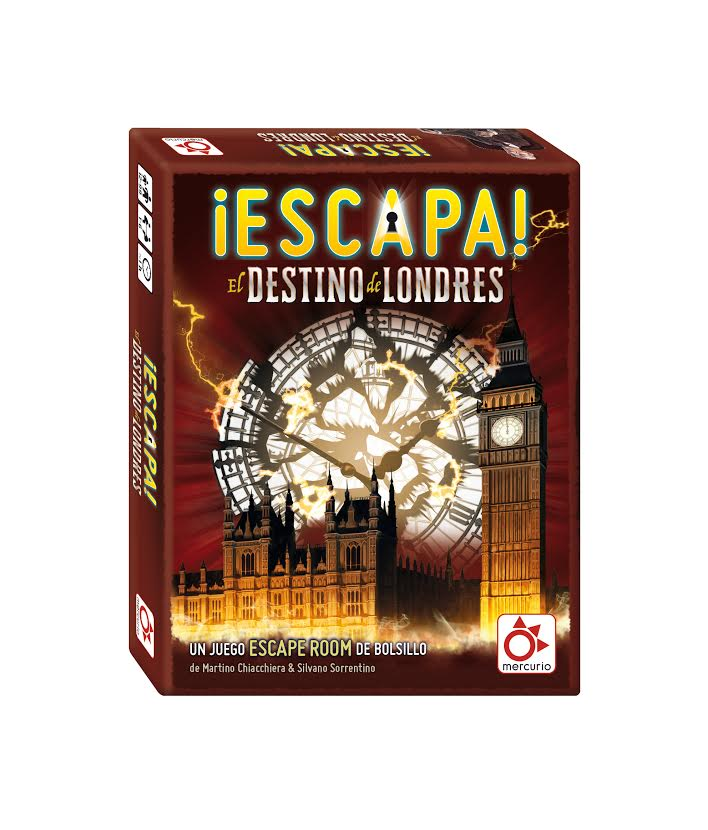 Juego Escape the Room. ¡Escapa! El Destino de Londres